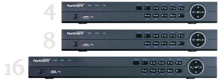 Northern 4 in 1 HD Outdoor 1080P 3.6mm 60/' IR Eyeball camera-White-#HDDWMIRW